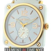 Bell & Ross BR S Rose gold 39mm White Arabic numerals United States of America, New York, New York