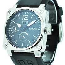 Bell & Ross BR0390-BL-ST BR03-90 Power Reserve and Big...
