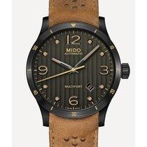 Mido Multifort Acier 42mm Gris Arabes
