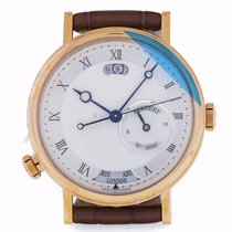 Breguet Red gold Automatic Silver Roman numerals 43mm pre-owned Classique