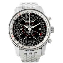 Breitling Navitimer Montbrillant Datora Black Dial Watch A21330