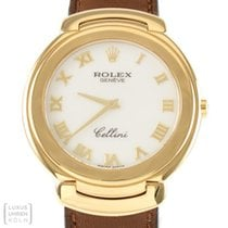 Rolex Uhr Cellini 750er Gold Ref. 6623