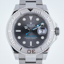 Rolex Yacht-Master, 116622, Mens, Stainless Steel and Platinum...