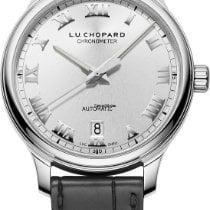 Chopard L.U.C Steel 42mm Silver Roman numerals United States of America, New York, NEW YORK