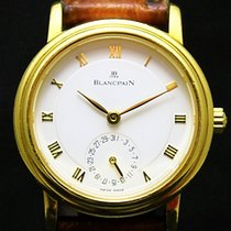 Blancpain Villeret Automatic  Date Solid 18 K Yellow Gold 4795