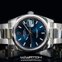 Rolex Oyster Perpetual Date NEW Blue Dial