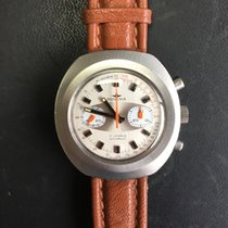 Dugena Chronograph 43mm Manual winding pre-owned Champagne