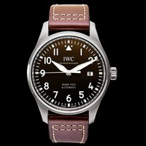 IWC Pilot Mark Steel 40mm Brown United States of America, California, San Mateo