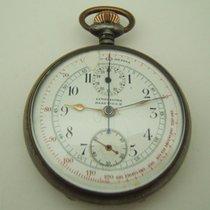 L.Leroy Et Fils Gousset Chronographe A Remontage Manuel De 1920