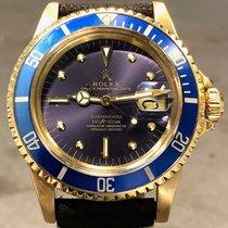 Rolex Submariner Date Жёлтое золото 40mm Фиолетовый