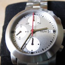 M&M Swiss Watch Steel 37mm Automatic new