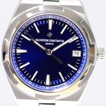 Vacheron Constantin Chronometer 41mm Automatik 2017 gebraucht Overseas (Submodel) Blau