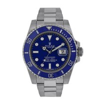 Rolex Submariner Date pre-owned 40mm White gold