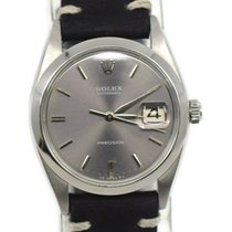 Rolex Oyster Precision Steel 34mm Grey No numerals United States of America, New York, New York