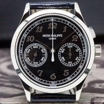 Patek Philippe Chronograph White gold 39mm Black Arabic numerals