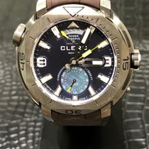 Clerc Steel 48mm Automatic GMT-1.4.4 new