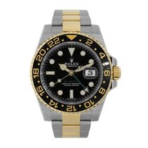 Rolex GMT-MASTER II Steel & 18K Yellow Gold Watch 116713LN