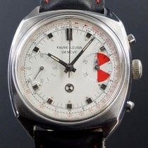 Favre-Leuba Steel 35mm Manual winding pre-owned