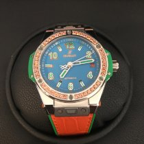 Hublot Big Bang Pop Art Aço 39mm Azul