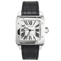 Cartier Santos 100 new Automatic Watch with original box and original papers 2656