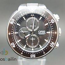 Oris ProDiver Chronograph 01 774 7683 7154-Set 2015 pre-owned