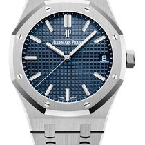 Audemars Piguet Royal Oak Steel 41mm Blue No numerals United States of America, New York, NEW YORK