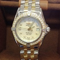 Breitling Callistino Gold/Steel 29mm Mother of pearl No numerals