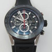 TAG Heuer Carrera Calibre HEUER 01 Steel 45mm Transparent No numerals