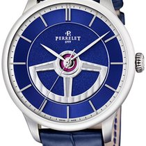 Perrelet Steel Automatic A1090/3 new