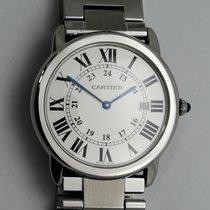 Cartier Stal 36mm Kwarcowy 2934 używany