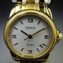 Tissot Ballade Powermatic 80 COSC Or jaune 27mm Blanc