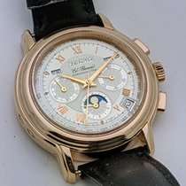 Zenith Rose gold Automatic Silver Roman numerals 40mm pre-owned El Primero Chronomaster