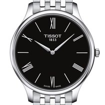 Tissot Tradition Zeljezo 39mm Crn