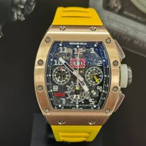 Richard Mille RM 011 Rose gold 50mm Transparent Arabic numerals Malaysia, Kuala Lumpur
