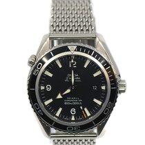 Omega Seamaster Planet Ocean Stahl 45.5mm Schwarz
