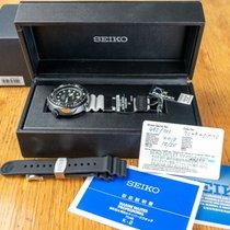 Seiko Titanium Quartz Black No numerals 49,4mm new Marinemaster