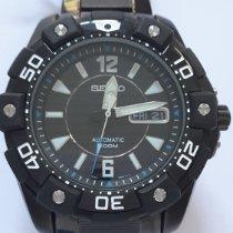 Seiko Superior Steel Black No numerals