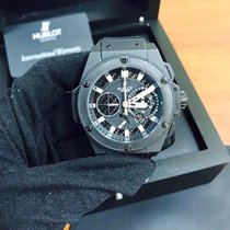 Hublot King Power Split-Second Power Reserve Black Magic