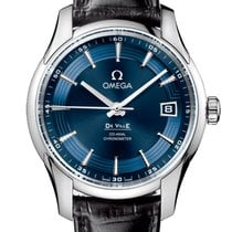 Omega DeVille Hour Vision Co-Axial 41mm Men's Watch