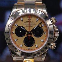 Rolex Oyster Perpetual Daytona 18k Yellow Gold Ref : 116528...