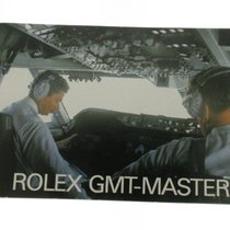 Rolex Gmt Master instruction booklet 16750