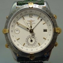 Breitling Duograph Steel 38,5mm White No numerals