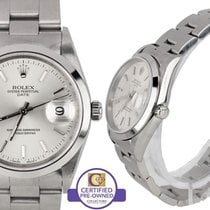 Rolex MINT Rolex Date 15200 Silver 34mm Oyster Stainless Watch...