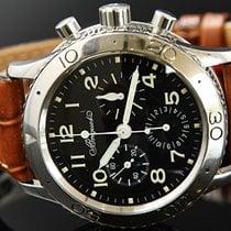 Breguet Typ XX Chronograph Ref 3800 Steel Box& Pap