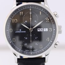 Junghans Meister Attaché Chronoscope Herrenuhr black Dial
