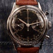 Angelus – Hermetique 38mm Steel Waterproof Chronograph Black...