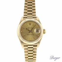 Rolex Datejust Lady 26 Yellow Gold President