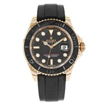Rolex Yacht-Master 40 Rose gold 40mm Black No numerals United States of America, New York, NYC