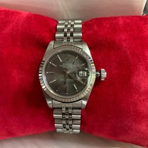 Rolex Oyster Perpetual Datejust Lady 69174 Tapestry Dial