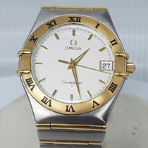 Omega Constellation Acero y oro 36mm Blanco Sin cifras